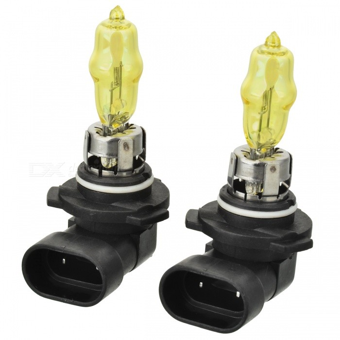 HOD 9005 100W Yellow Car Light Bulbs (2-Pack/DV 12V)