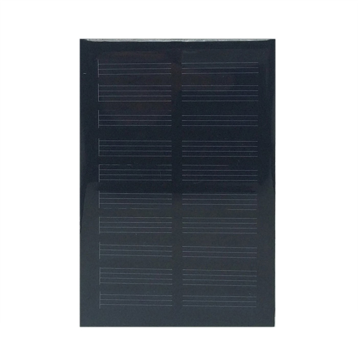 WN-05 5.5V 110mA 0,6 W Monokristalline Silizium Solar Power Panel - Schwarz (95 x 64mm)