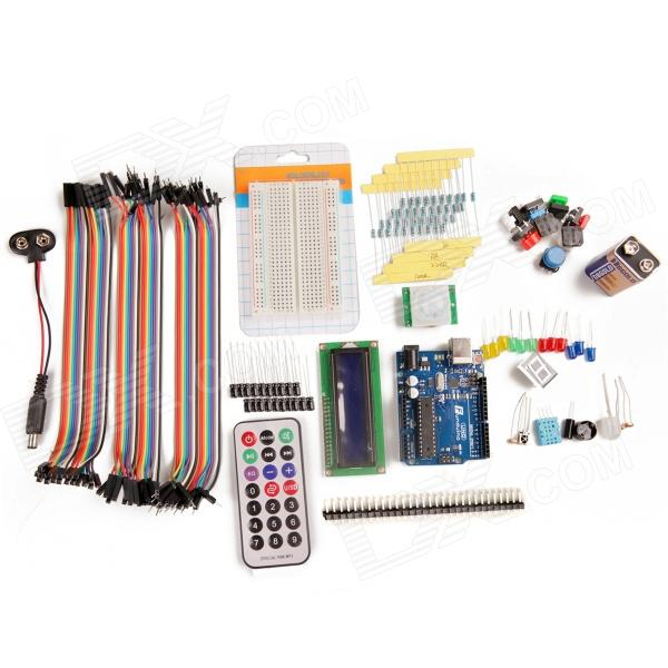 DIY Basic Starter Kit для Arduino - Deep Blue + Разноцветный