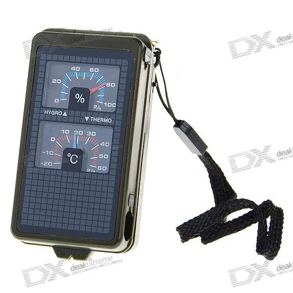 10-in-1 Outdoors Survival Mini Kit w/ Whistle + Compass + More - BlackFirst Aid<br>Form  ColorWhiteSizeMPacking List<br>