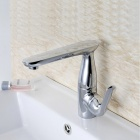 YDL-F-0560-360-Degrees-Rotatable-Chrome-plated-Brass-Bathroom-Sink-Faucet-Silver