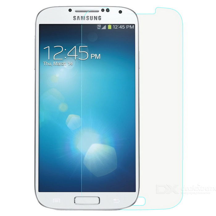 Tempered Glass Screen Film for Samsung Galaxy S4 i9500 - Transparent