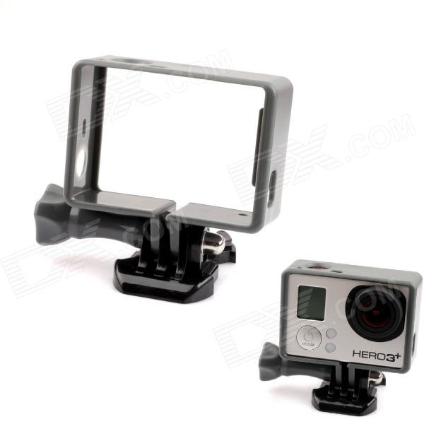 PANNOVO Plastic Protective Side Frame w/ Screws + Push Buckle for Gopro Hero 4/ 3 / 3+