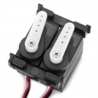 WLtoys V912-13 ABS Servo for R/C Helicopter - Black + White + Multi-Colored (Cable-15cm)