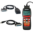U600 CAN OBDII/EOBDII VW/AUDI Memo Scanner (Live Data) Auto Diagnostic Tool - Black + Red