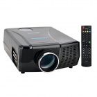 VisionTek XP728LUNX LCD Digital Home Projector w/ HDMI / USB - Black