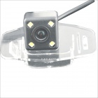 "Carking Car 1/4"" CCD High Definition Reverse Rear View Camera w/ 4 LED for Honda Accord 2008"