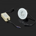 YouOKLight 8W 485lm 3500K COB LED Warm White Embedded Ceiling Lamp