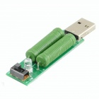 HF USB Mobile Power Aging Load Resistance Module - Green (2 PCS)