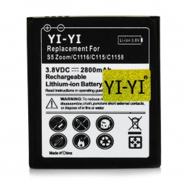 38V-1800mAh-Rechargeable-Li-ion-Battery-for-Samsung-Galaxy-S5-Zoom-C1116-C115-C1158-Black