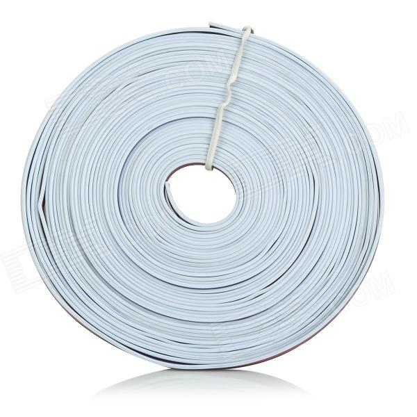 5-Pin Extension / Connecting Wire Cable for RGB LED Light Strip - White + Black (10.34m)Other Accessories<br>MaterialPlastic + copperColorWhite + Black + Multi-ColoredQuantity1 PiecePacking List1 x Cable (10.34m)<br>