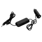 "Bestphone 1101micro 0.7"" Screen Car FM Transmitter for Samsung / HTC / Android Phones - Black"