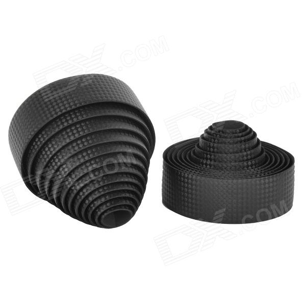 NUCKILY R007 Road Bike Bicycle PU Handlebar Tape Belt Wrap - BlackBike Accessories<br>Form  ColorBlackBrandNUCKILYModelR007Quantity1 DX.PCM.Model.AttributeModel.UnitMaterialPUGenderUnisexBest UseCycling,Mountain Cycling,Recreational Cycling,Road Cycling,Bike commuting &amp; touringWaterproofYesTypeOthers,N/AOther FeaturesEasy to clean; Soft and thick; Anti-slip, anti-shock, water resistance and durable.Packing List2 x Tapes (200cm)<br>