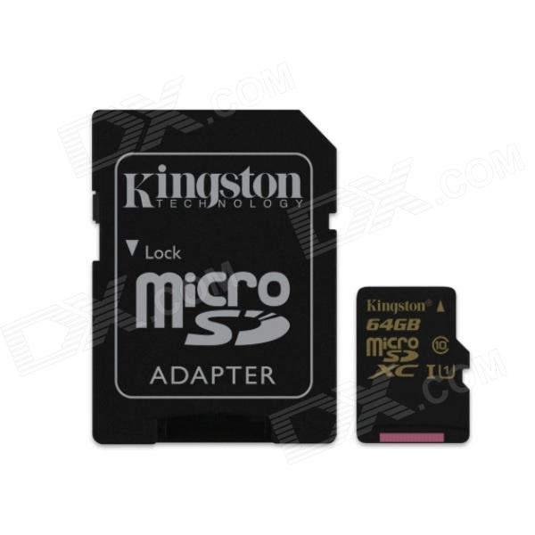 Kingston Digital SDCA10/64GB Flash Memory Card with Adapter for sale in Bitcoin, Litecoin, Ethereum, Bitcoin Cash with the best price and Free Shipping on Gipsybee.com