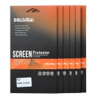 DULISIMAI Clear ABS Screen Protector Film Guard for Samsung Galaxy Note 3 Mini G7106 (6 PCS)