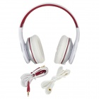 Bingle F1 Headband Music Headphone w/ Mic. / 3.5mm Jack for Cell Phone / Tablet PC - Black + Silver