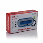 HY HY-BT74 Bluetooth V2.0 Speaker w/ 3.5mm / USB 2.0 / Microphone / FM / TF - Yellow + White