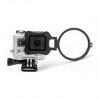 Fat Cat Professional 10X Close-up Macro Lens w/ Flip Housing Converter for GoPro Hero 3+ - Black