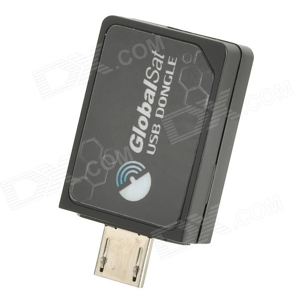 Receptor Do Dongle De Globalsat ND-105C GPS USB Para O Telefone, Tabuleta PC - Preto
