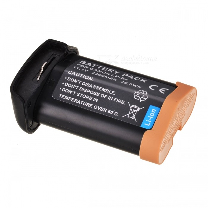 LP-E4 Compatible 11.1V 2300mAh Battery Pack for EOS-1Ds Mark III
