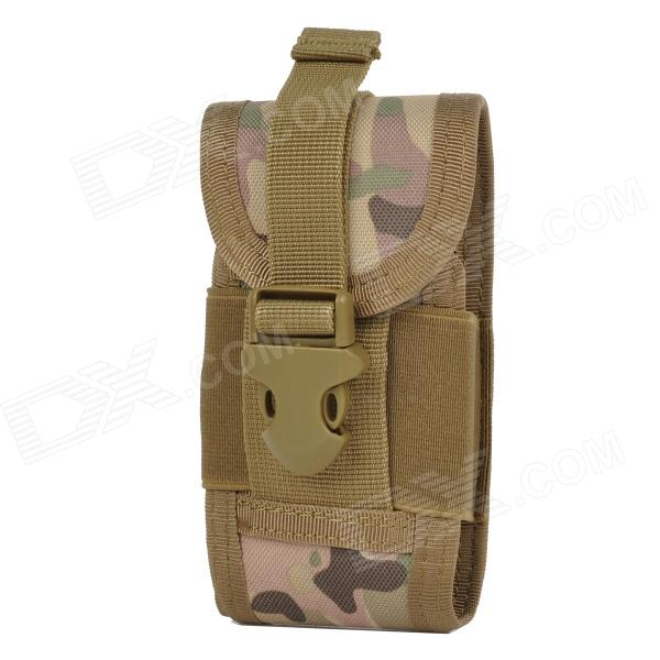 AT01 Outdoor Multifunctionall Protective Mobile Phone Waist Bag for IPHONE - AT Camouflage