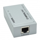CHEERLINK HDT003 Full HD 1080P 3D HDMI Extender Set w/ CAT 5 / 6 - Silver + Black