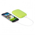 T400 Universal QI Wireless Charger w/ 4000mAh Mobile Power for IPHONE 5 / Nokia 920 - Green