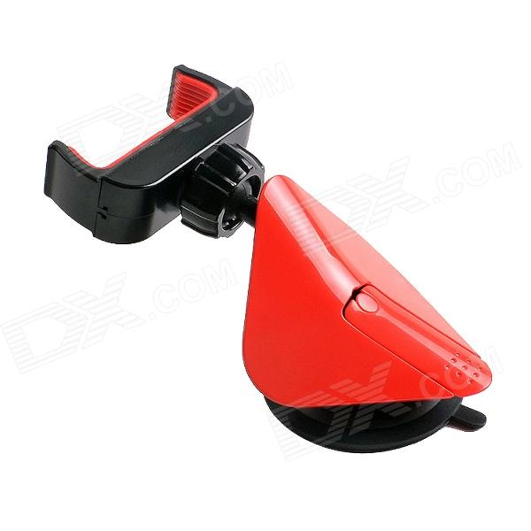 ZJ-020 Car Swivel Mount Holder for Mobile Phone - Red + Black