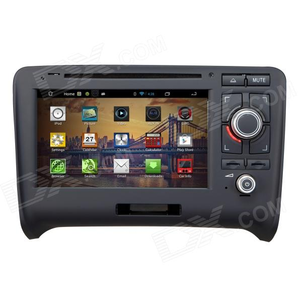 "7"" Android 4.2 Capacitive Screen Car DVD Player w/ IPS, GPS, RDS, WiFi, Radio, AUX, BT for AUDI TT"