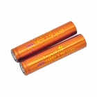 TrustFire High-rate Discharge 3.7V 950mAh 5C Lithium-ion 14650 Batteries - Red + Orange (2 PCS)