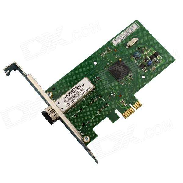 Winyao-WY580F-1000SX-PCI-E-X1-1000M-Gigabit-Fiber-Network-Card-Green