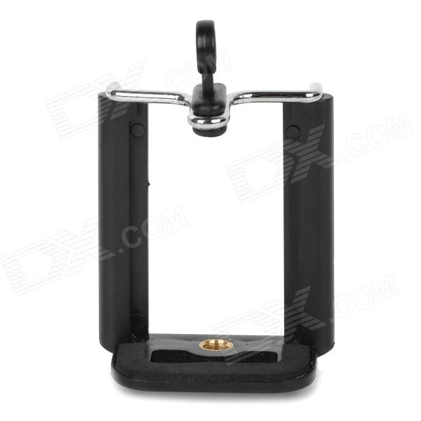Universal Adjustable Plastic Cellphone Mount Holder for IPHONE - Black
