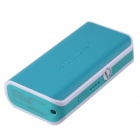 "AIDEIDAI P5002A ""5600mAh"" USB 18650 Battery Mobile Power Bank w/ LED - Blue"