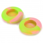 Universal Anti-Slip Silicone Button Cover Cap for PS3 / PS2 / XBOX 360 Controller (2 PCS)