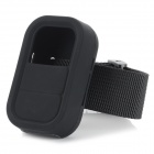 Wrist Belt Silicone Protective Case for GoPro Hero 3+ / 3 Wi-Fi Remote Control - Black
