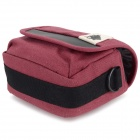 ZAP Universal Stylish Canvas Carrying Bag for Camera / DSLR - Red