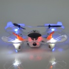IA 8943 4-CH 2.4GHz R/C Quadcopter w/ 6-Axis Gyro / 3D Tumble / LCD Screen / 300KP Camera - Black