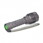 Sofirn C5  750lm 3-Mode White Flashlight w/ Cree XM-L2 T6 + Battery Charger - Grey (1 x 18650)