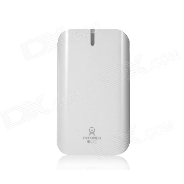 Dxpower M15000A 5V 15000mAh Li-polymer External Battery Power Bank for Mobile Devices - White
