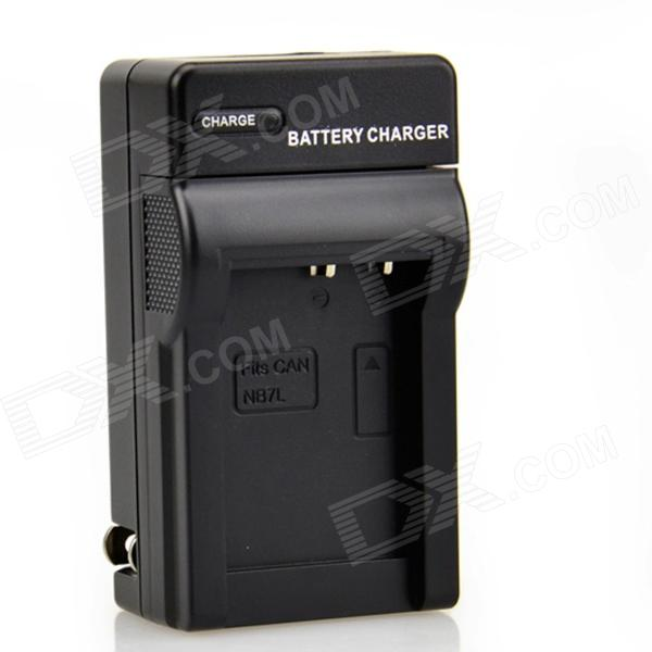 DSTE NB-7L Battery Charger for Canon G10 G11 G12 SX30IS Digital Camera (US Plugss)