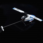 WLtoys V977 6-CH 2.4GHz Radio Control Outdoor R/C Helicopter w/ Gyroscope - Blue + White