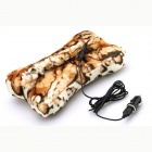 Uneed BK-0023 Bone Conduction Bluetooth Stereo Hi-Fi Handsfree Car MP3 Player Pillow - Leopard Print