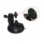 Universal Car Suction Cup Mount Holder for IPHONE / Samsung / HTC / Camera - Black