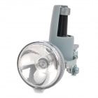 SXC02 Bike Bicycle 2-Mode Warm White Light Friction Generator Headlight - Grey