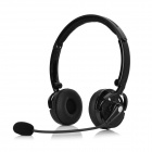 Blue Tiger SK-BH-M20 Bluetooth V2.1 Headband Headphone w/ Microphone - Black