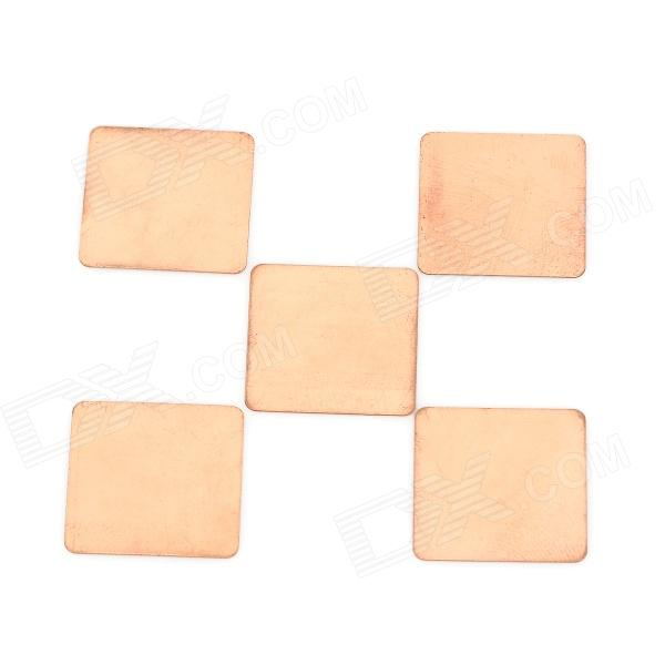 CPU BGA cobre conductor de calor Pad (5 PCS)