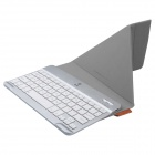 Baseus LTBLUEKD-TO08 Tron Series Bluetooth V3.0 64-Key Keyboard w/ USB 2.0 - Brown + Silver