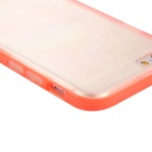 Baseus FRAPIPH6-MT09 Protective Soft TPU Back Case for IPHONE 6 - Transparent + Red