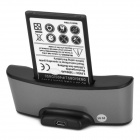 "Sunshine Phone / Battery Charging Dock + 3.8V ""3500mAh"" Battery + Charging Cable for LG G3"