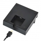 Sunshine Charging Dock Station + Charging Cable Set for Sony Xperia Z2 Tablet / P511 / P512 - Black